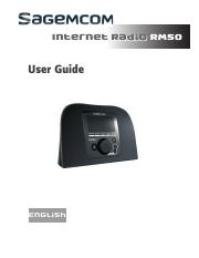 SAGEMCOM RM50 User Manual